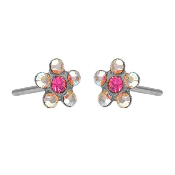 7582-6510 baby daisy ab crystal oct rose