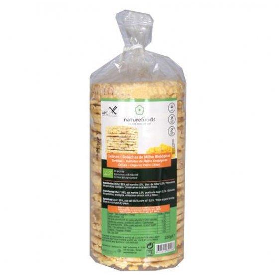 Naturefoods Galetes Milho Bio 120gr