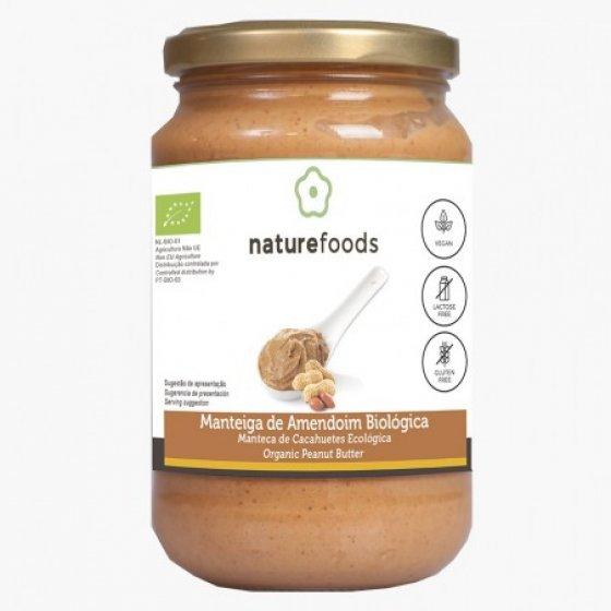 Naturefoods Manteiga Amendoim Bio 350g