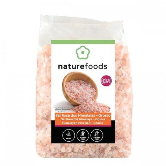 Naturefoods Sal Rosa Himalaias Grosso 1kg