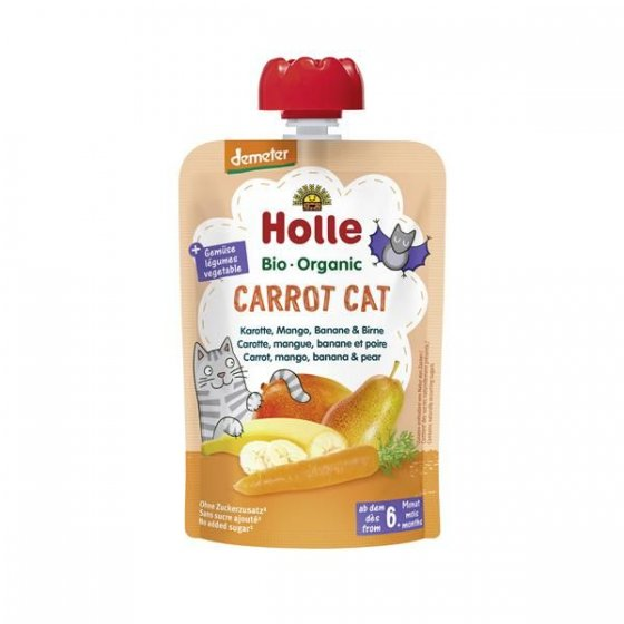 Holle Bio Pure Saq. Carrot Cat 6M 100g