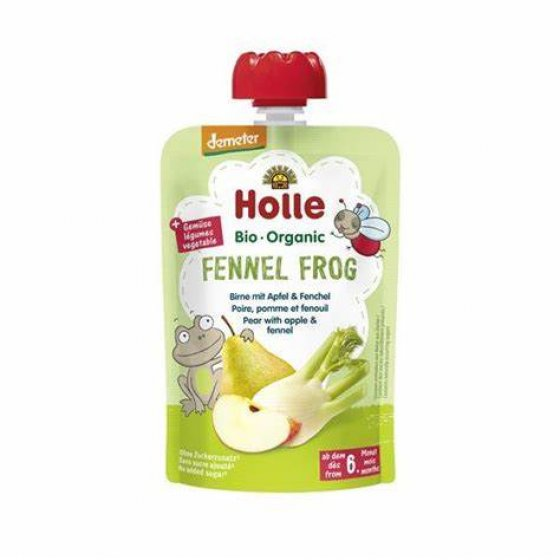 Holle Bio Pure Saq. Fennel Frog 6M 100g