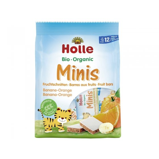 Holle Barras Minis Banana e Laranja 12M