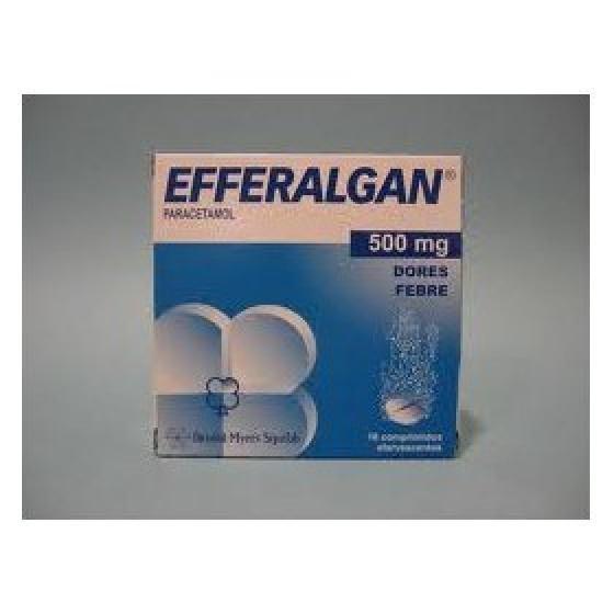 Efferalgan, 500 mg x 16 comp eferv