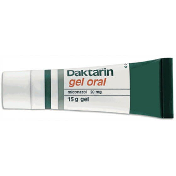 Daktarin, 20 mg/g-30 g x 1 gel oral mL