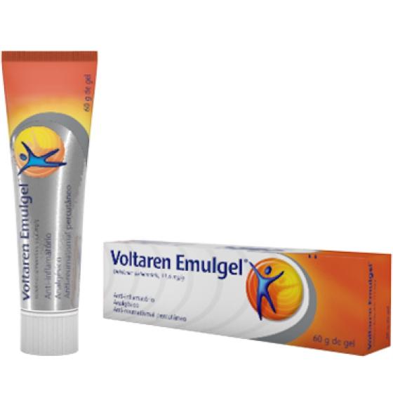 Voltaren Emulgel , 10 mg/g Bisnaga 60 g Gel