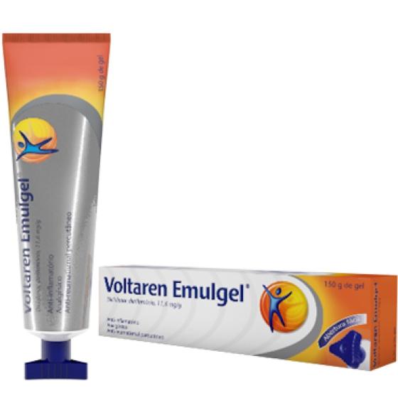 Voltaren Emulgel , 10 mg/g Bisnaga 150 g Gel