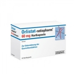 Orlistato Ratiopharm, 60 mg x 84 cáps