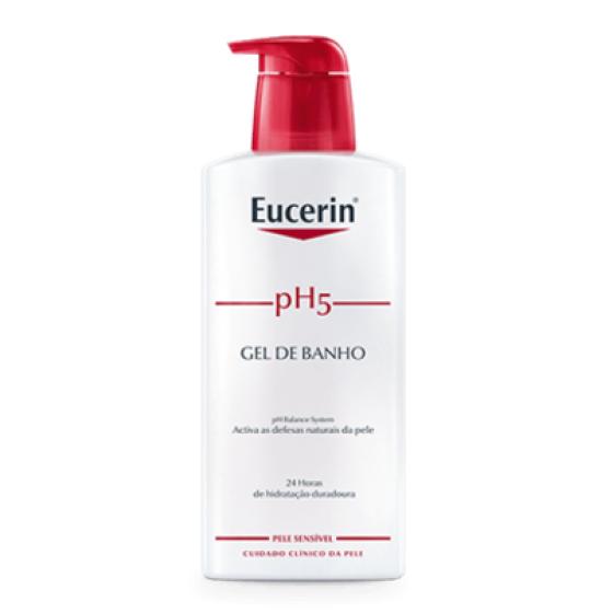 Eucerin pH5 Gel de banho para pele sensível 1l com Desconto de 50%