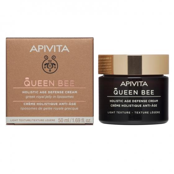 Apivita Queen Bee Creme Antienvelhecimento Global Textura Ligeira 50ml