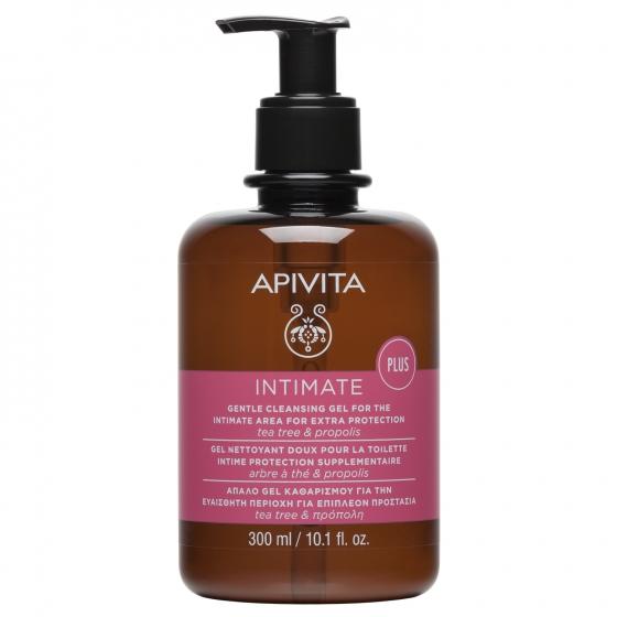Apivita Gel de Limpeza Suave Para a Higiene íNtima - Proteção Extra 300ml