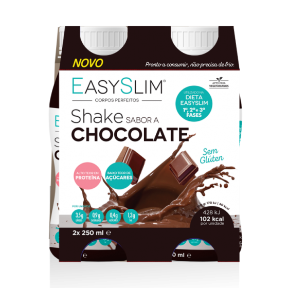 Easyslim Shake Sol Or Chocolate 250ml