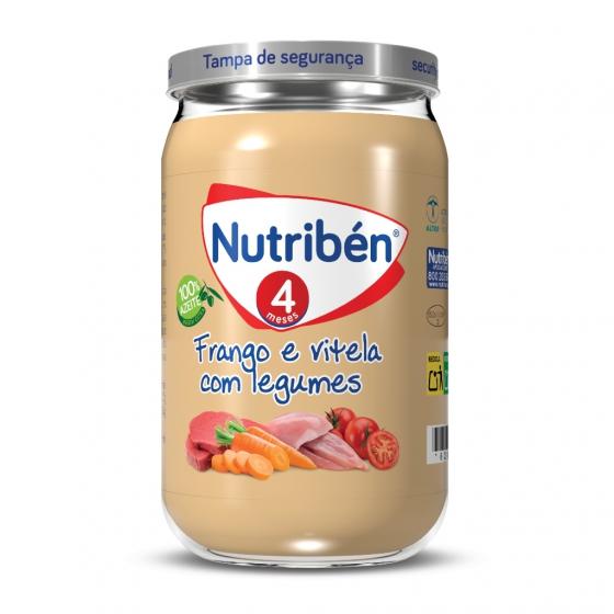 Nutribén frango e vitela com legumes 235g
