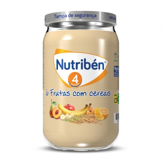 Nutribén 6 frutas c cereais 235g