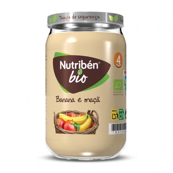 Nutribén BIO BOIÕES - banana e maçã 235g
