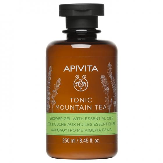 Apivita Tonic Mountain Tea Gel Banho Com Óleos Essenciais 250ml