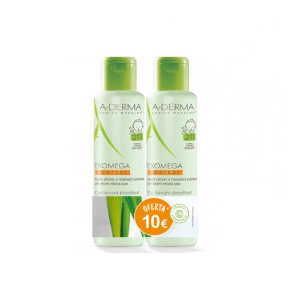 A-Derma Exomega Control Duo Gel para corpo e cabelo 2 x 500 ml com Desconto de 10?