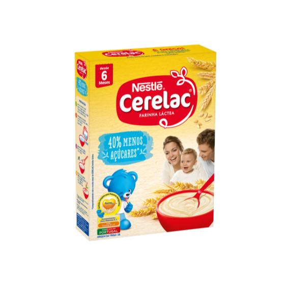 Cerelac Cereais Lt Trigo -40% Acuc 250G 6M+