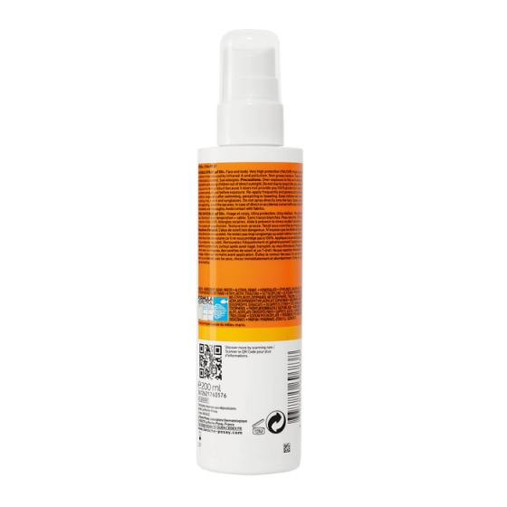 La Roche-Posay Anthelios Spray Invis Spf30 200Ml
