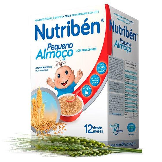 Nutribén Pequeno-almoço e pedacinhos 375