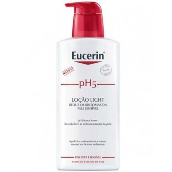 Eucerin pH5 Loçăo light 1l com Desconto de 50%
