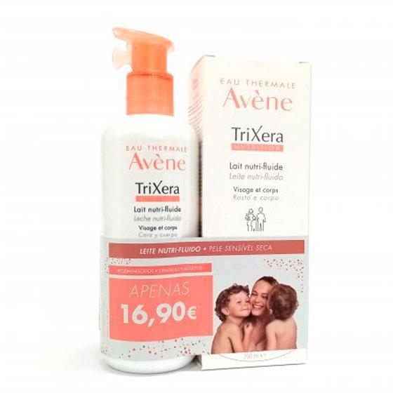 Avčne TriXera Nutrition Leite nutri-fluido 400 ml + Leite nutri-fluido 200 ml com Preço especial de 16,90€