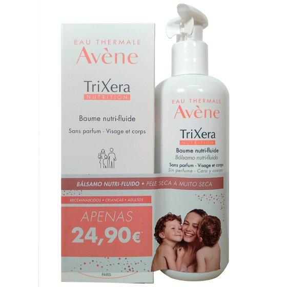 Avčne TriXera Nutrition Bálsamo nutri-fluido 400 ml + Bálsamo nutri-fluido 200 ml com Preço especial de 24,90€