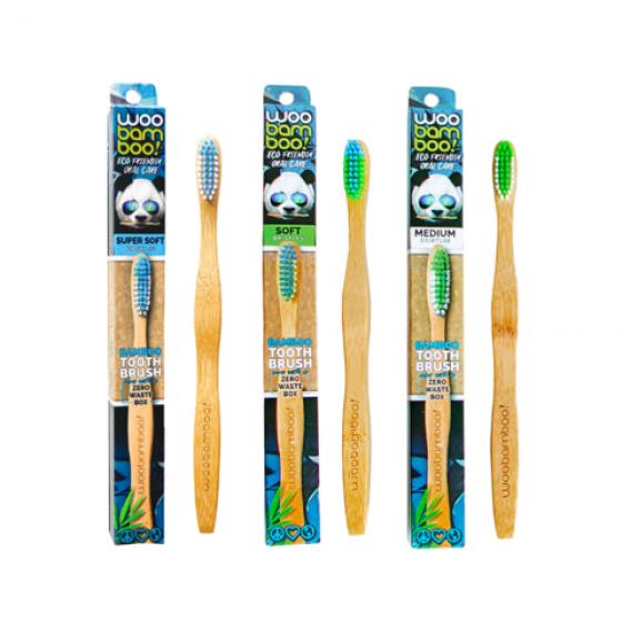Woobamboo Zero W Esc Dent Bambu Adul Medio