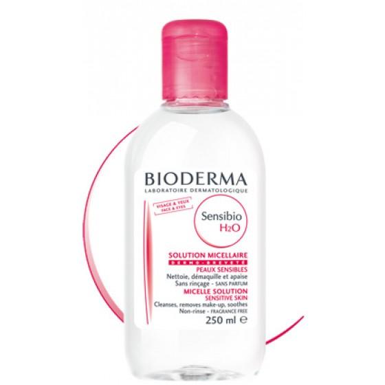 Sensibio Bioderma H2O Ag Micelar 250Ml