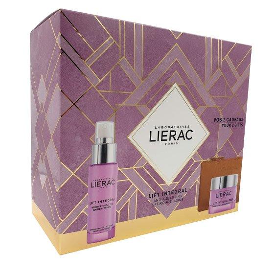 Lierac Lift Integral Sérum tensor sobreativado 30 ml com Oferta de Nutri Creme tensor remodelante 50 ml + Rue Des Fleurs Monaco Bolsa