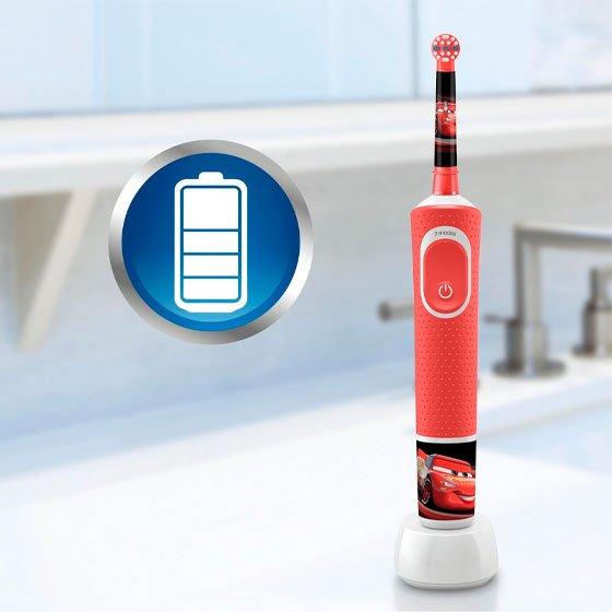 Oral-B Kids Escova de dentes elétrica Disney Cars com Oferta de Estojo