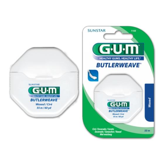 Gum Fio Dent 1155 Encerado 55m