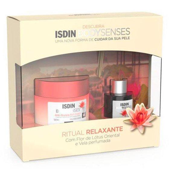 Isdin Bodysenses Ritual Relaxante com Flor de Lótus Oriental Creme corporal 250 ml + Difusor aromático 50 ml