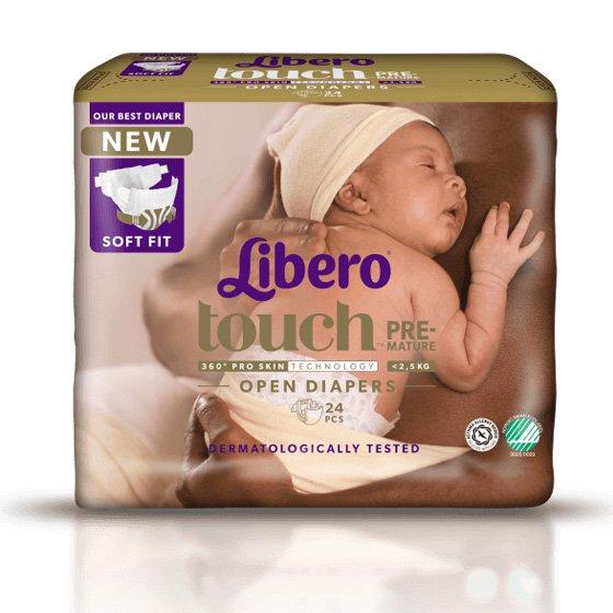 Libero Baby Comfo Frald Prematuro X 24