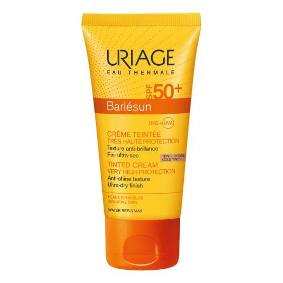 Uriage Baiésun Creme Spf50+ Cor Dourado