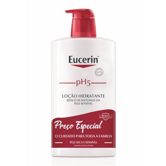 Eucerin pH5 Loção hidratante para pele seca e sensível 1l com Preço especial