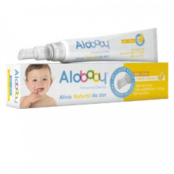 Alobaby Primeiros Dentes Gel Banana 10ml
