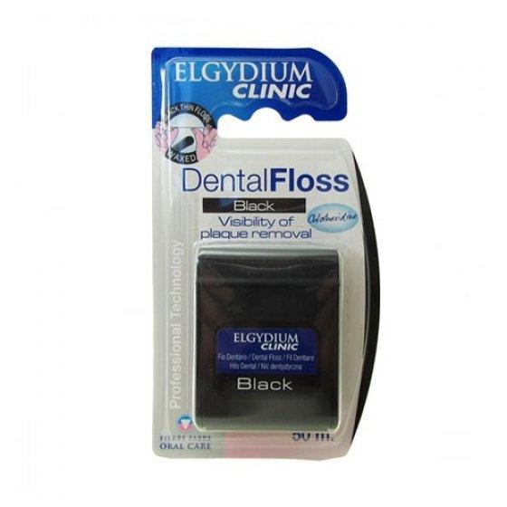 Elgydium Clinic Fio Dent Black 50m