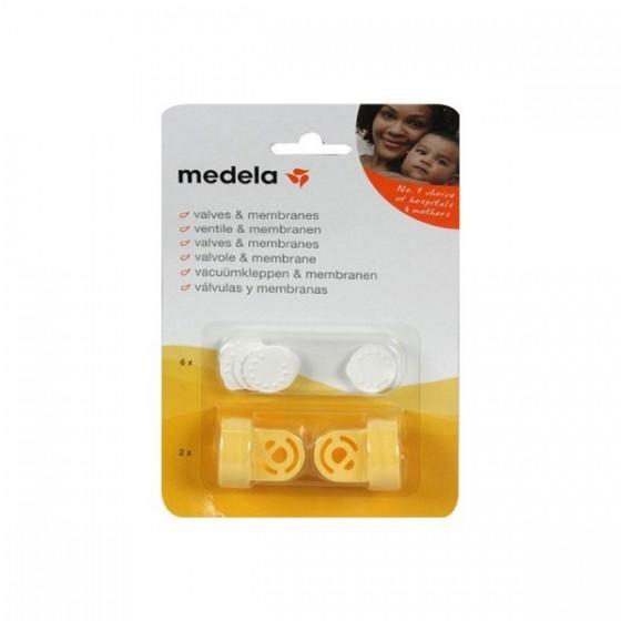 Medela Conjunto Membranas + Válvulas P/ Extrator Leite