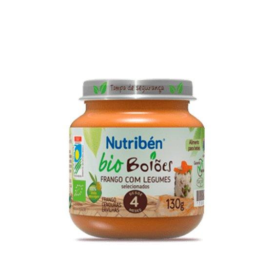 Nutriben Bio Boiao Frango C/Legum 130g