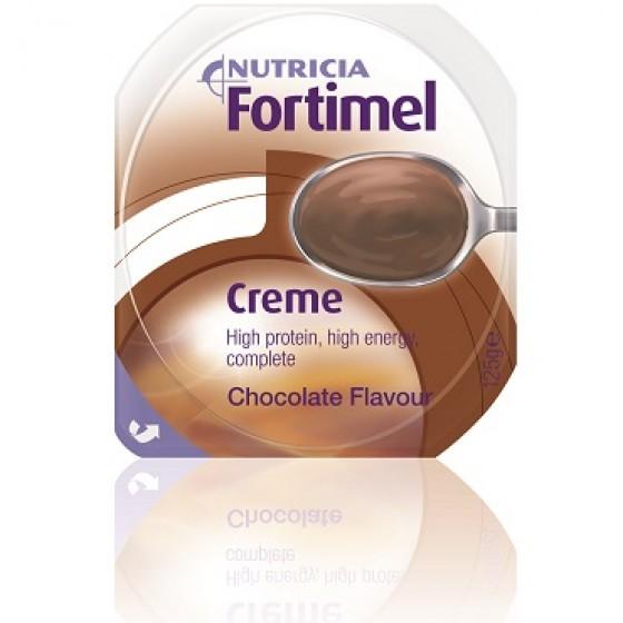 Fortimel Creme Chocolate 125 G X 4 emul oral emb