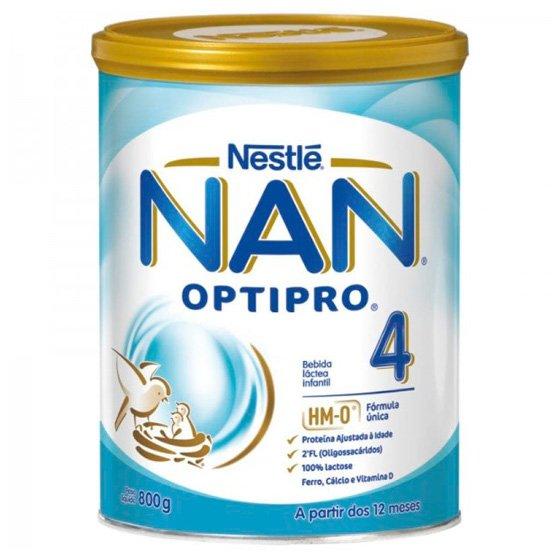 Nan Optipro 4 Sol Or Lactea Po 800g