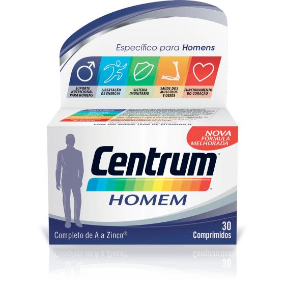 Centrum Homem Comp X 30 comps