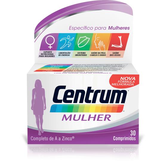 Centrum Mulher Comp X 30 comps