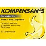 Kompensan Trieffect , 340 mg + 30 mg Blister 20 Unidade(s) Comp chupar