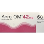 Aero-OM, 42 mg x 60 comp mast