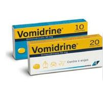 Vomidrine, 50 mg x 10 comp